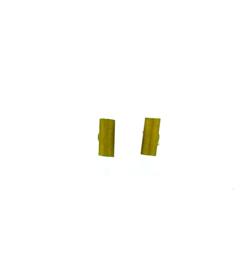 Oorstekers staafjes goudkleurig