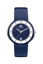 Danish Design horloge blauw 39 mm