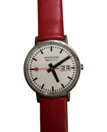 Mondaine classic 33 mm rood