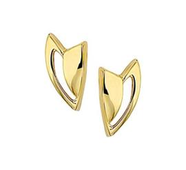 Gouden oorstekers kunst