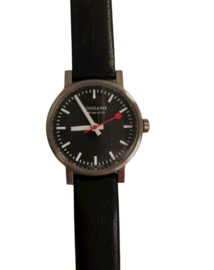 mondaine swiss watch 26 mm zwart