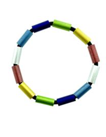 Tjongejonge armband buizen multicolor
