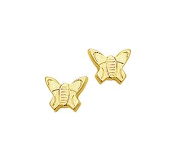 Gouden oorknopjes vlinder