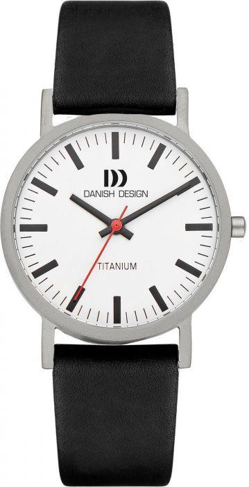 Danish Design horloge wit/zwart 35 mm