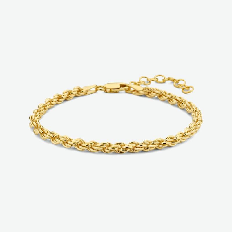 armband koord 3,5 mm 16 + 3 cm