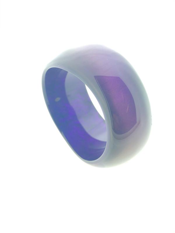 Zsiska armband rond paars