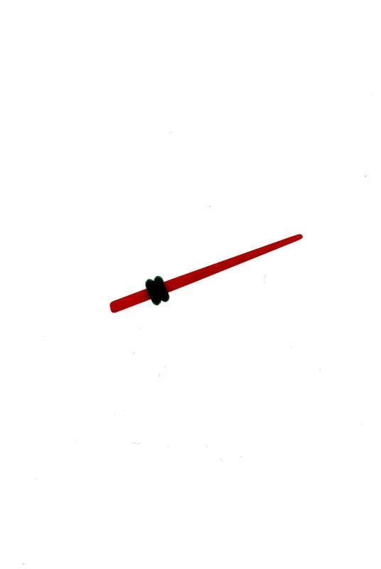 Kunststof stretcher rood 2 mm