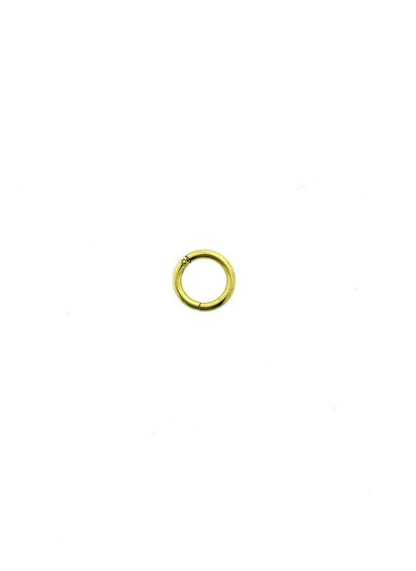 Piercing ringetje goudkleur 8 mm