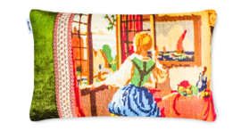 Patchwork kussen, A Patch of Multi, 35 x 55 cm (3551)