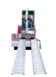 FACAL Kargo aluminium oprijplank 2.42 m / 1200 kg draagvermogen