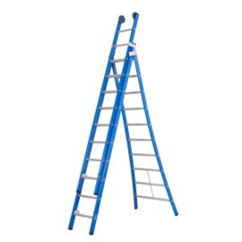 ALPHA driedelige reformladder 3 x 8 sporten - 947308