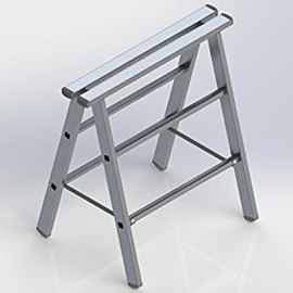 584025 - Klapschraag DHZ aluminium