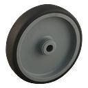 Toprollen met rubberband Ø 125 mm, ongemonteerd - 714161