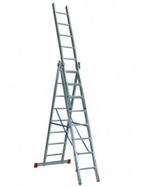 D10308 ALUCRAFT 3 delige reform ladder 3 x 8 sporten
