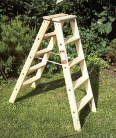 WOODCRAFT houten dubbele trappen ☼☼