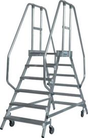 Krause Stabilo magazijn trap 2 x 6 treden - K820266