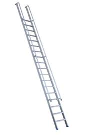 FACAL enkele rechte trap 6 treden met tweezijdige, doorlopende leuning - FAS1521R
