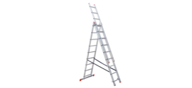 STS PRO driedelige reform ladders ☼☼+