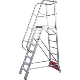 Krause Vario magazijn trap 5 treden - 833006