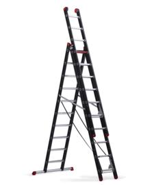 Altrex Mounter driedelige reformladder 3 x 14 sporten, gebruikt
