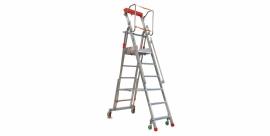 FACAL Casta verrijdbare magazijn/montage trappen