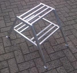 Stucadoorstrappen aluminium