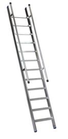 FAS1511 - FACAL enkele rechte trap 6 treden met tweezijdige leuning