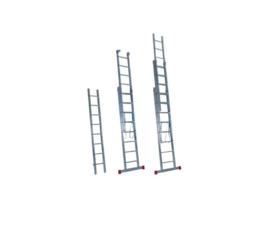 Driedelige Opsteekladders en Touwoptrekladders