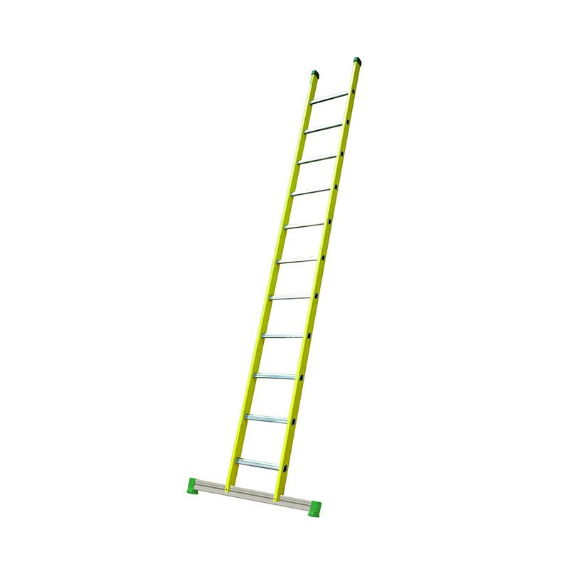 FACAL Vetroprima GVK enkele rechter ladder 12 sporten met stabiliteitsbalk - V355/SB