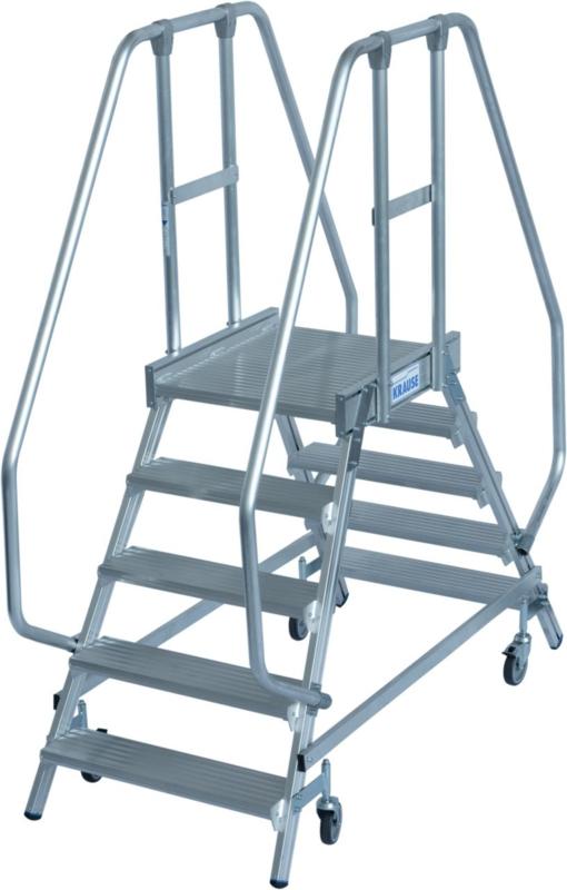 Krause Stabilo magazijn trap 2 x 5 treden - K820259