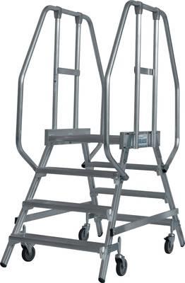 Krause Stabilo magazijn trap 2 x 4 treden - K820242