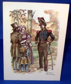 Leerling van de militaire school - aspirant van de artillerie 1830