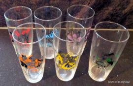 Durobor Set limonadeglazen, kinderen in klederdracht