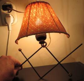 Vijftiger jaren wandlamp