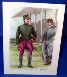 Officier bij het vliegwezen van 1912
