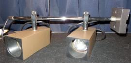 Philips verstelbare space age plafondlamp