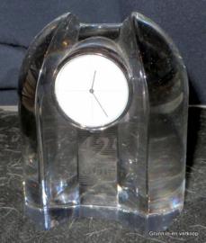 Siem van der Marel voor Royal Leerdam - Kristallen klokje
