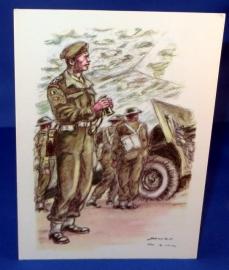 Artillerie van de Belgische strijdkrachten in Groot-Bretagne - 1944