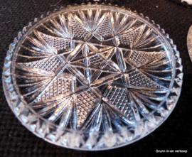 Kristalunie Maastricht, Max Verboeket blankglazen Onderzetters