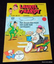 Laurel en Hardy nr. 180 - Het dwaze duo moet een oude man verplegen!
