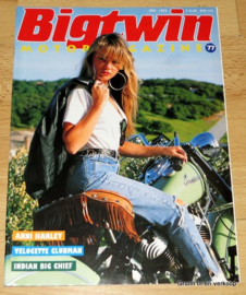 Big Twin 77, Motor Magazine, Biker Lifestyle, Biker Magazine, 1993