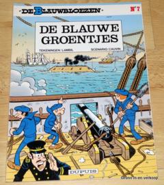 De Blauwbloezen Nr 7 - De Blauwe Groentjes