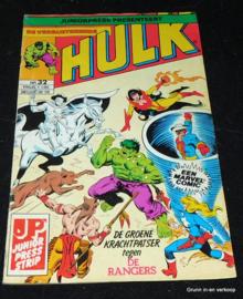 De Verbijsterende Hulk - Nr 32: De groene krachtpatser tegen...