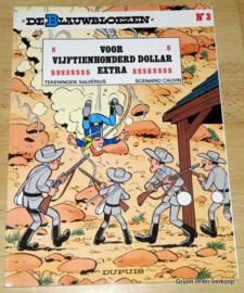 De Blauwbloezen Nr 3 - Voor Vijftienhonderd Dollar Extra