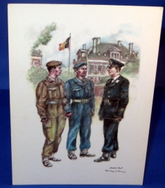 Leerlingen der scholen voorbereidend tot de graad van Onder-Luitenant intermachten