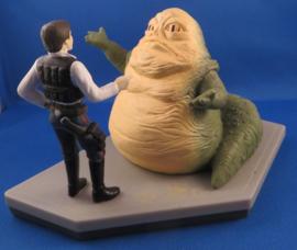 Jabba the Hutt & Han Solo 1997