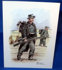 Carabiniers - Veldtenue 1914