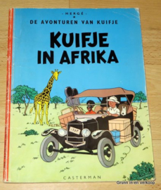 De Avonturen van Kuifje - Kuifje in Afrika