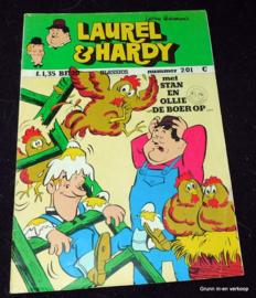 Laurel en Hardy nr. 201 - Met Stan en Ollie de boer op…