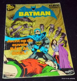 Batman Album nummer 1 Jacht op de euvele Ra's Al Ghul!